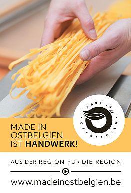 """""""Made in Ostbelgien"""" steht für starkes Handwerk"""